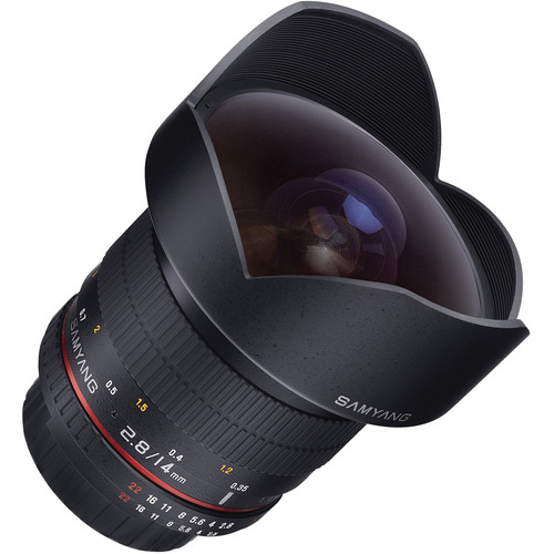 Samyang 14mm Ultra Wide-Angle f/2.8 IF ED UMC Lens for Sony A Mount