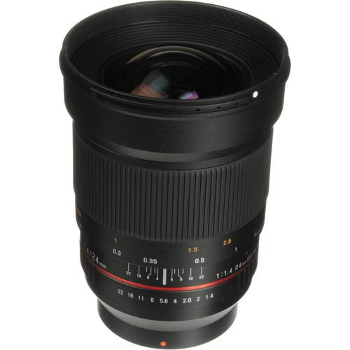 Samyang 24mm f/1.4 ED AS UMC Wide-Angle Lens for Samsung NX