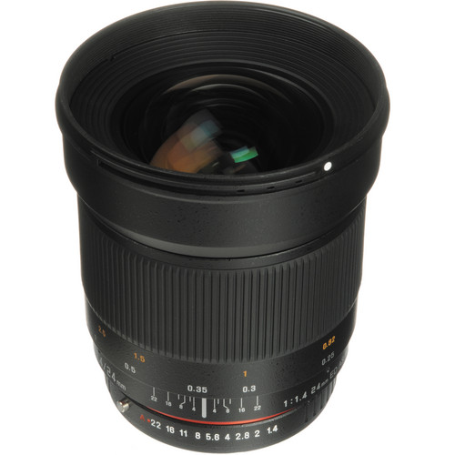 Samyang 24mm f/1.4 ED AS UMC Wide-Angle Lens for Pentax