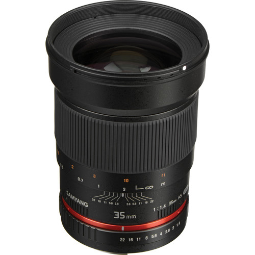 Samyang 35mm f/1.4 AS UMC Lens for Canon EF