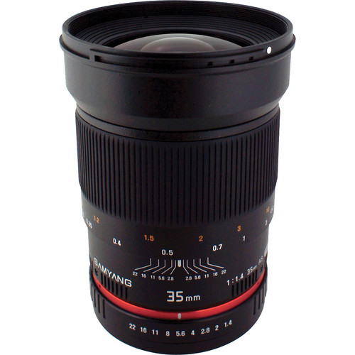 Samyang 35mm f/1.4 Wide-Angle US UMC Aspherical Lens for Olympus