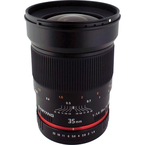 Samyang 35mm f/1.4 AS UMC Lens for Pentax K