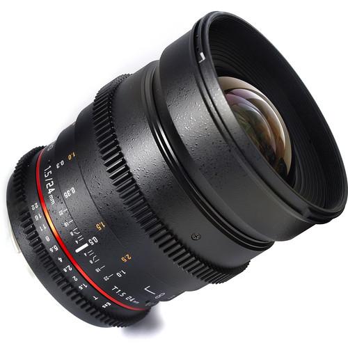 Samyang 24mm T1.5 Cine Lens for Sony A-Mount