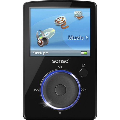 SanDisk Sansa Fuze MP3 Player (Black)