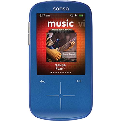 SanDisk 8GB Sansa Fuze+ MP3 Player Blue