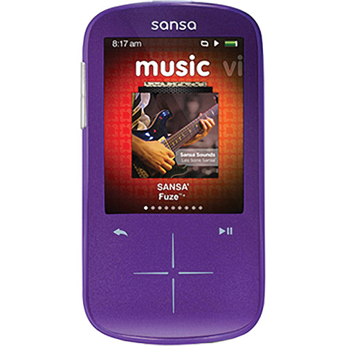SanDisk 8GB Sansa Fuze+ MP3 Player Purple