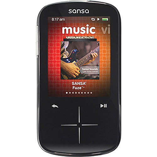 SanDisk 8GB Sansa Fuze+ MP3 Player Black
