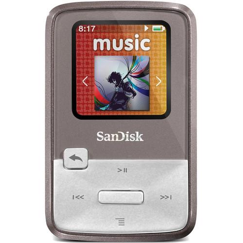 SanDisk Sansa Clip Zip MP3 Player (4GB, Grey)