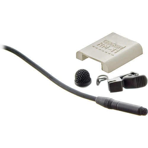 Sanken COS-11D Omnidirectional Lavalier Microphone for Digital Transmitters (Pigtail) (Black)