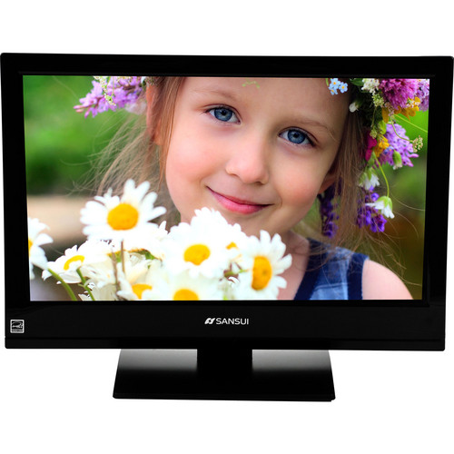 "Sansui SLEDVD196 19"" Accu Series Super Slim LED/DVD Combo"