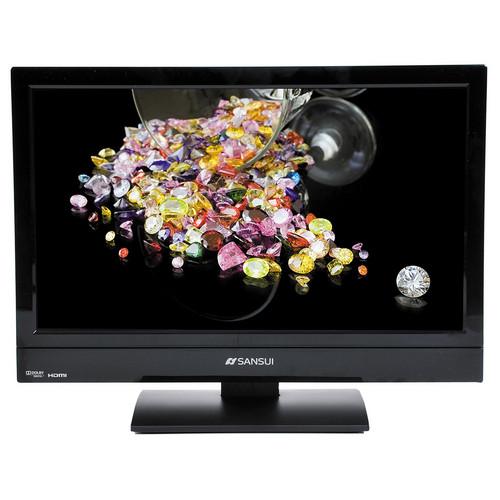"""Sansui SLEDVD197 19"""" LED TV / DVD"""