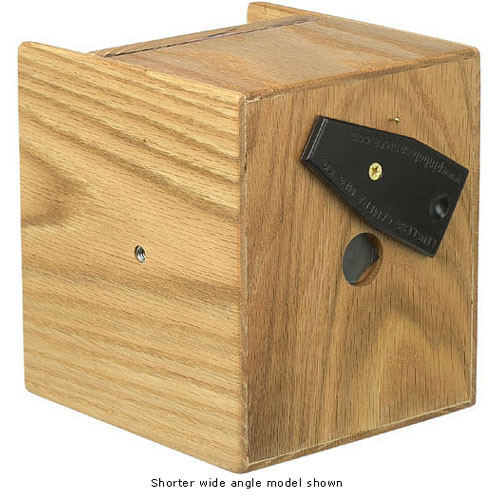 "Lensless 4x5"" Pinhole Camera (150mm / 6"" Normal, Red Oak)"