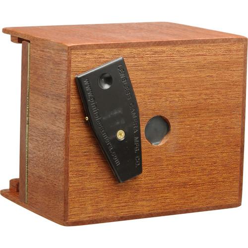 "Lensless 4 x 5"" Pinhole Camera (50mm / 2"" Super Wide-Angle, Mahogany Wood)"