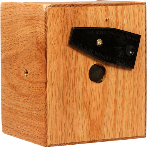 "Lensless 4 x 5"" Pinhole Camera (50mm / 2"" Super Wide-Angle, Red Oak Wood)"