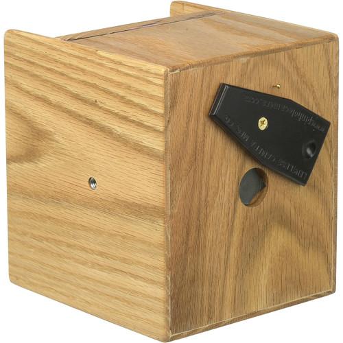"Lensless 4 x 5"" Pinhole Camera (75mm / 3"" Wide-Angle, Red Oak)"