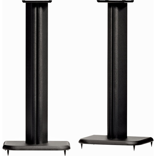 "SANUS 24"" MDF Construction Speaker Stand (Black, Pair)"