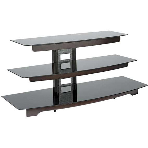 "SANUS 50"" 3-Shelf AV Stand (Chocolate Finish)"