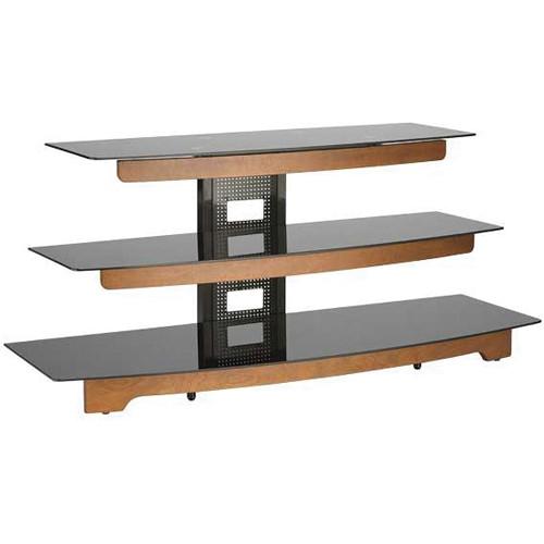 """SANUS 50"""" 3-Shelf AV Stand (Chestnut Finish)"""