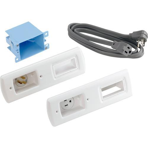SANUS ELM805-W1 Powerbridge Cable Management System (White)