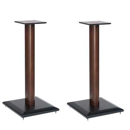 "SANUS NF24-MO1 Natural Foundations 24"" Speaker Stand Pair (Mocha)"