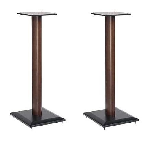 "SANUS NF30-MO1 Natural Foundations 30"" Speaker Stand Pair (Mocha)"