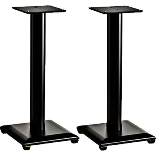 "SANUS NF36B Natural Foundations 36"" Speaker Stand Pair (Black)"