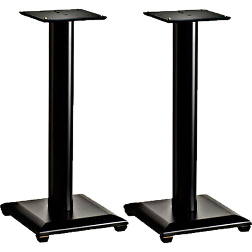 "SANUS NF36B Natural Foundations 36"" Speaker Stand Pair (Black)"