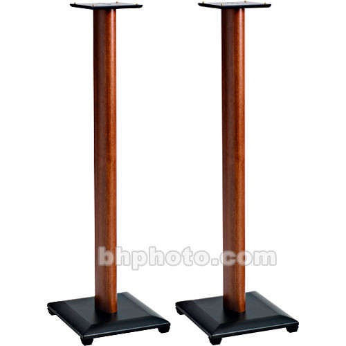 "SANUS NF36C Natural Foundations 36"" Speaker Stand Pair (Cherry)"
