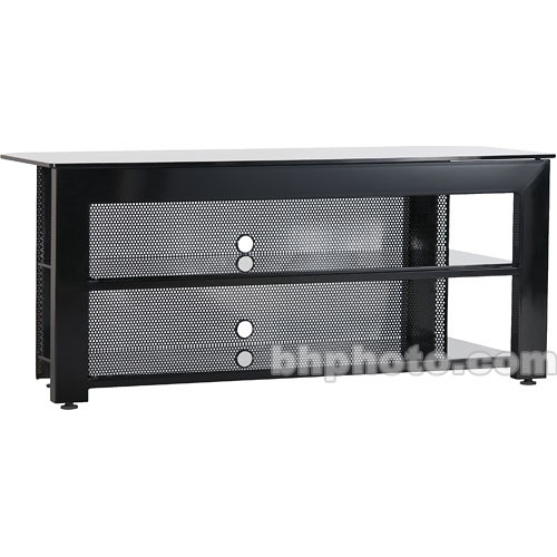"SANUS SFV49b 49"" Wide 3-Shelf Audio Video Stand - Black"