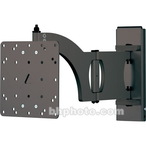 SANUS VM400b Flat-panel Wall Mount w/Tilt/Swivel/Arm (Black)