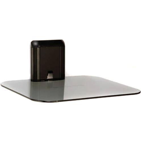SANUS Single Accessory On-Wall Component Shelf (Black)