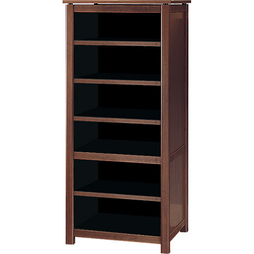 SANUS 7 Shelf A/V Cabinet, Model WFA54 (Mocha)