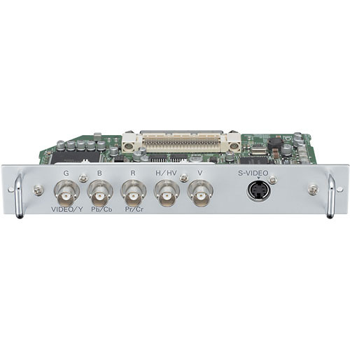 Panasonic POA-MD25VD3 5-BNC & S-Video  Input Board