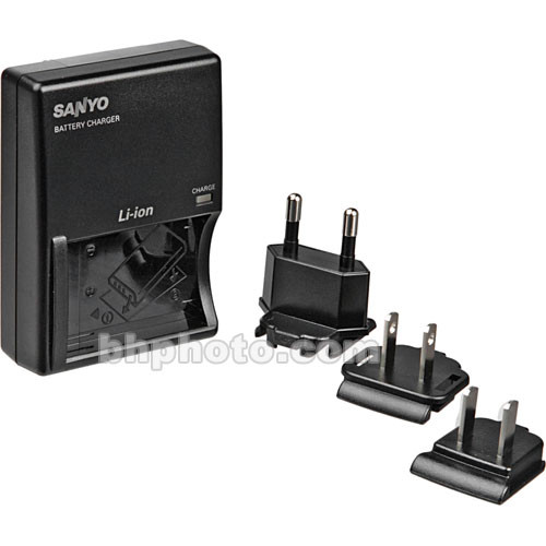 Sanyo VAR-L50U Compact Battery Charger for the DB-L50AU