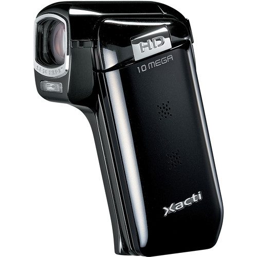 Sanyo Dual Camera Xacti 720p HD VPC-CG10 Camcorder (Black)