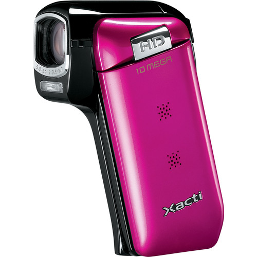 Sanyo Dual Camera Xacti 720p HD VPC-CG10 Camcorder (Pink)