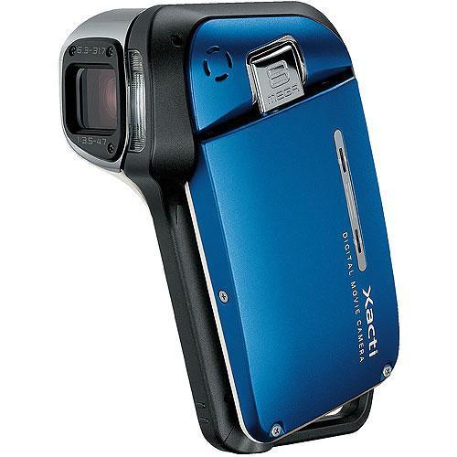 Sanyo VPC-E2 Xacti E2  Waterproof Camcorder (Blue)