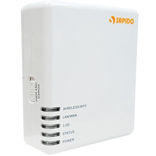 Sapido 3G/4G Wireless Mobile Hotspot SIM Card Router