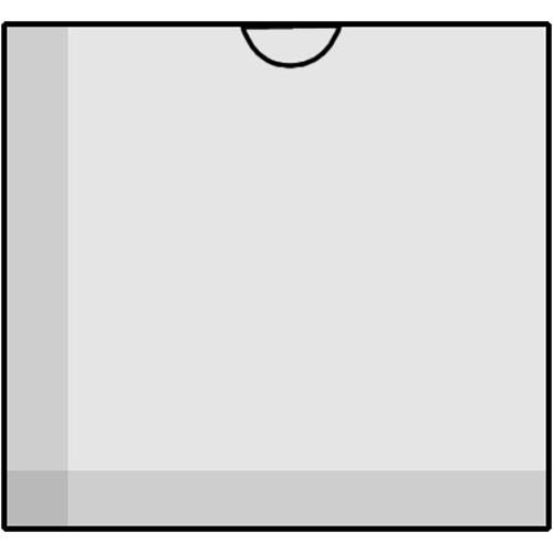 Savage Glassine Envelope with Open End for 6 x 6cm - Holds One Frame - 50 Envelopes