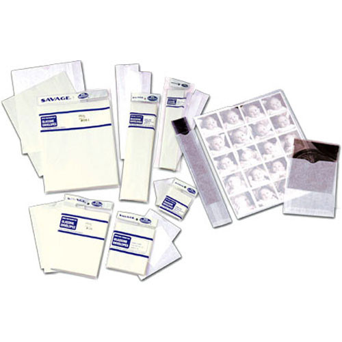 """Savage Glassine Envelope with Flap for One 8x10"""" Film"""