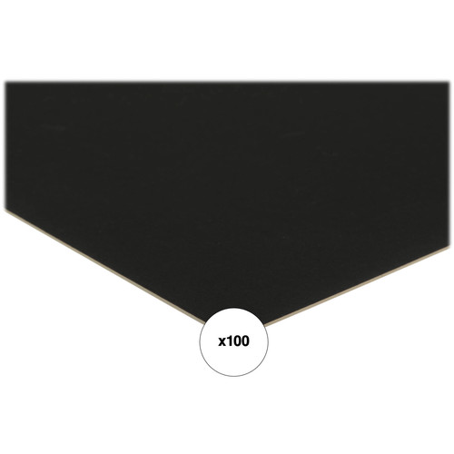 """Savage ProCore Mat and Mount Board - Black Antique/White - 11x14"""" (4-Ply, 100-Pack)"""