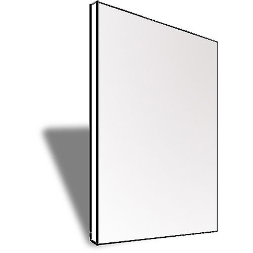 "Savage White Core Mat and Mount Board - White/White - 20 x 30"" - 25 Boards"