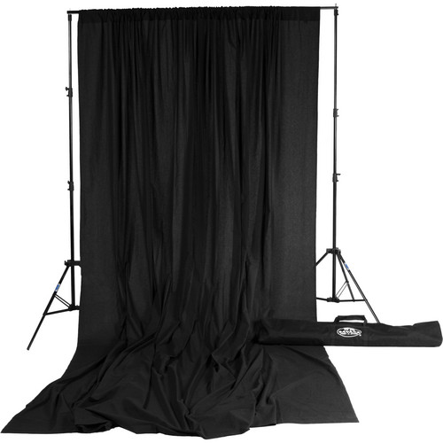 Savage Accent Muslin Background Kit (10 x 12', Black)