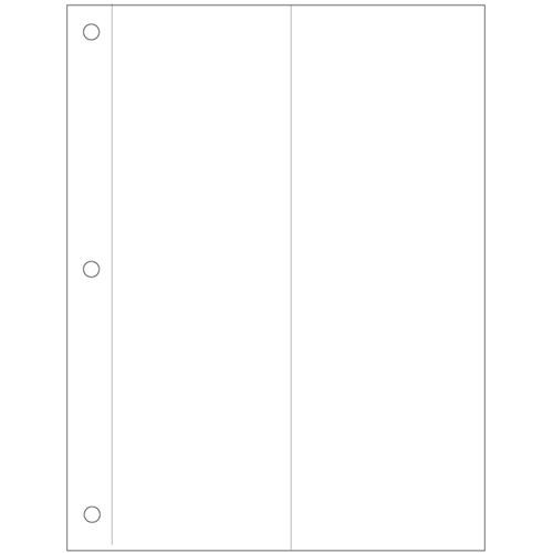 """Savage Film-Vue Print Page - Holds Four 3.5 x 10"""" Prints - 25 Pack"""