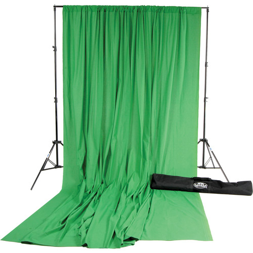 Savage Accent Muslin Background Kit (10 x 24', Chroma Green)