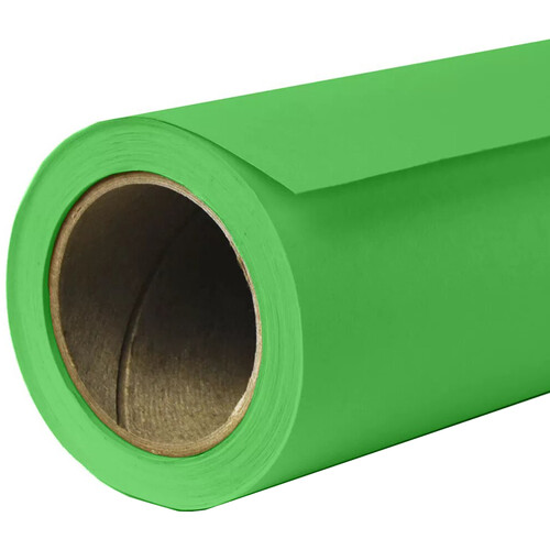 "Savage Widetone Seamless Background Paper (#46 Tech Green, 140"" x 105')"