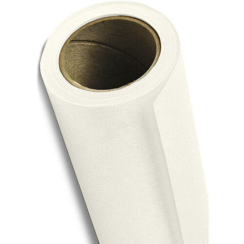 "Savage Widetone Seamless Background Paper (#50 White, 53"" x 36')"