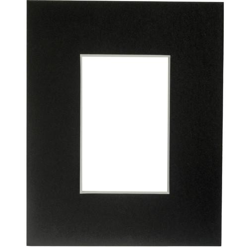 "Savage ProMatte Museum Mat (8x10"" Mat for 4x6"" Print - Matte Black)"
