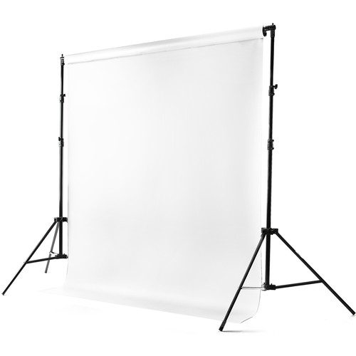 Savage Port-a-Stand and Vinyl Muslin Background Kit (White, Matte)