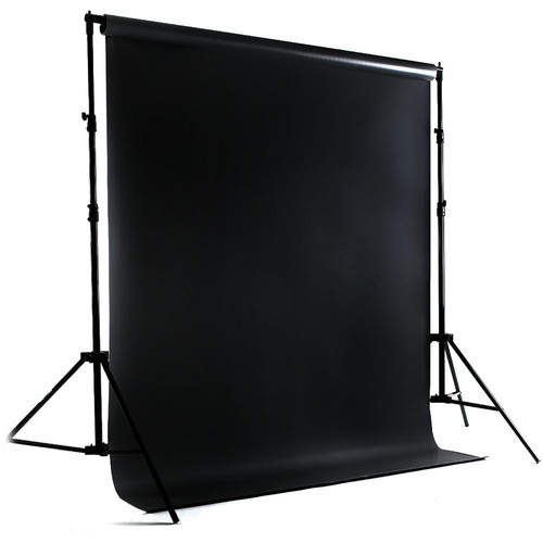 Savage Port-a-Stand and Vinyl Muslin Background Kit (Black)